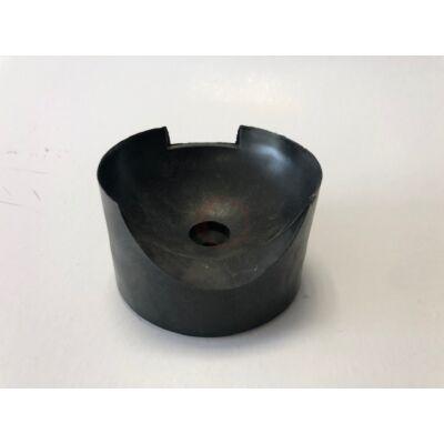 Koptatóműanyag fekete
