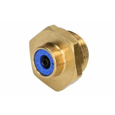 Külsőmenetes csatlakozó, egyenes 6x1-M22*1,5mm