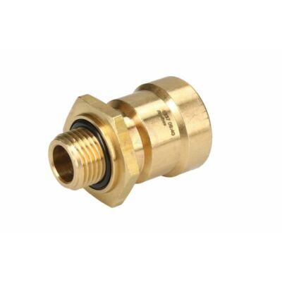 Külsőmenetes csatlakozó, egyenes 15x1,5-M16*1,5mm