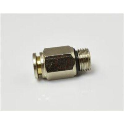 Egyenes fém gyorscsatlakozók 6-M10*1mm